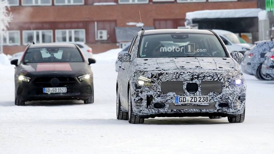 2019 Mercedes B-Class spy photos