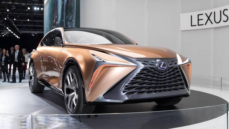 Lexus анонсировал трехрядный кроссовер и рамный внедорожник