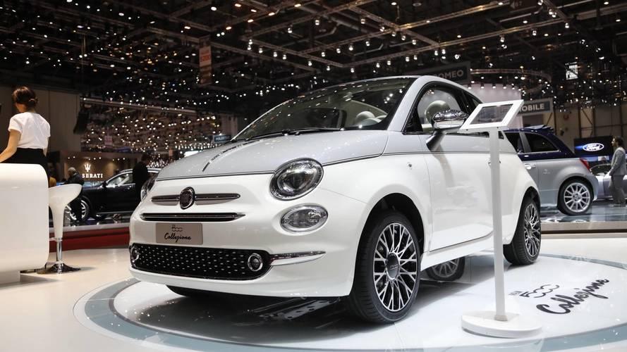 Genève 2018 - Fiat présente la 500 Collezione
