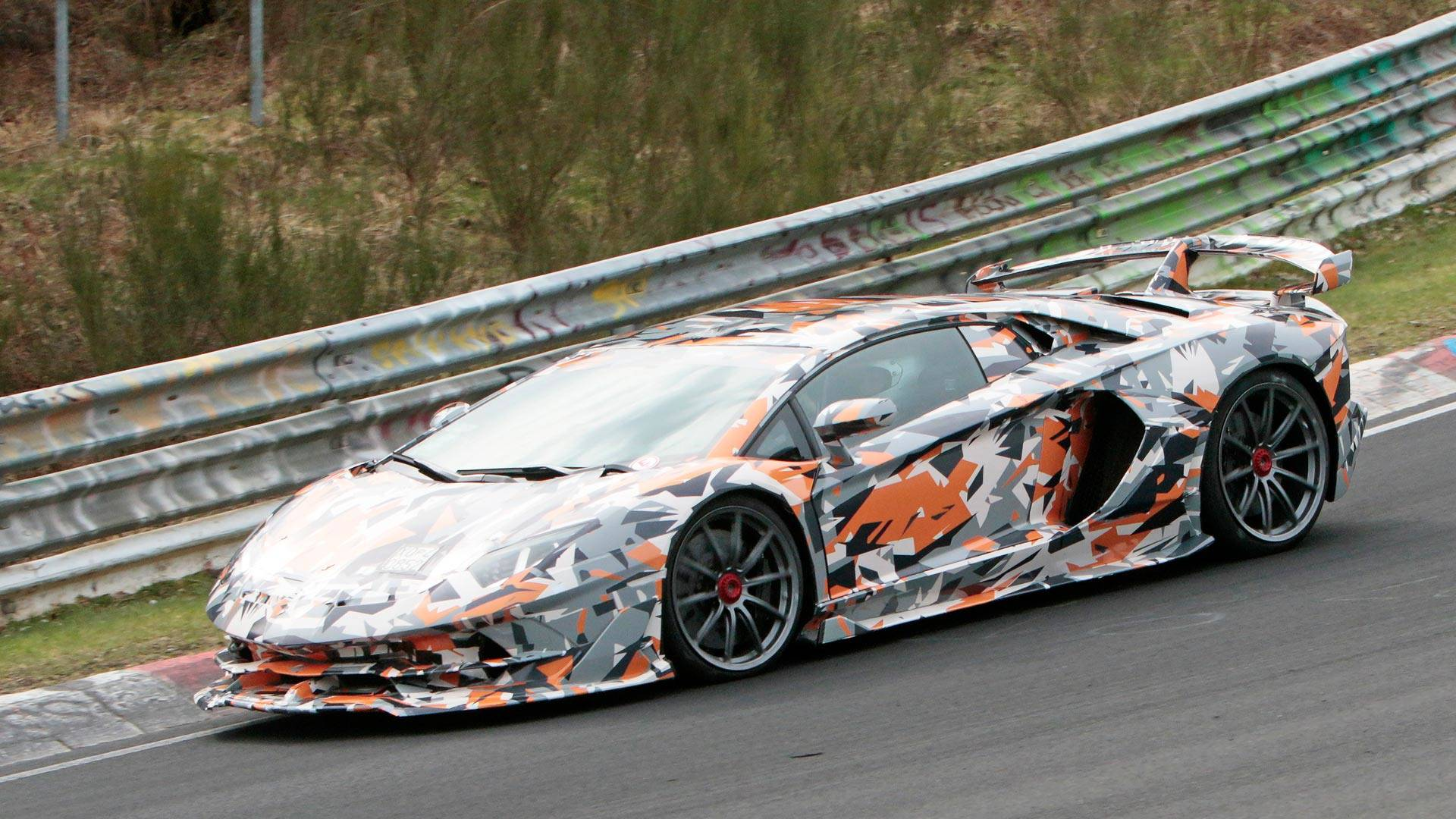Lamborghini Aventador Svj Brags About Handling In New Teaser