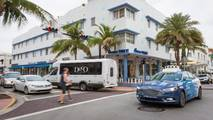 Ford Autonomous Vehicles Miami