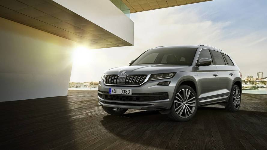Skoda's Luxurious Kodiaq Tops Out At £38,105