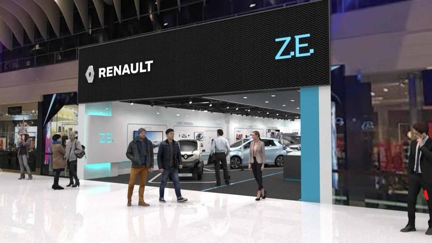 Renault ouvre une concession réservée aux véhicules électriques