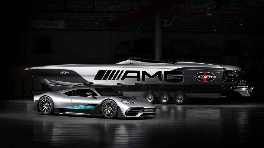 Cigarette Racing 515 Project ONE, l'AMG del mare