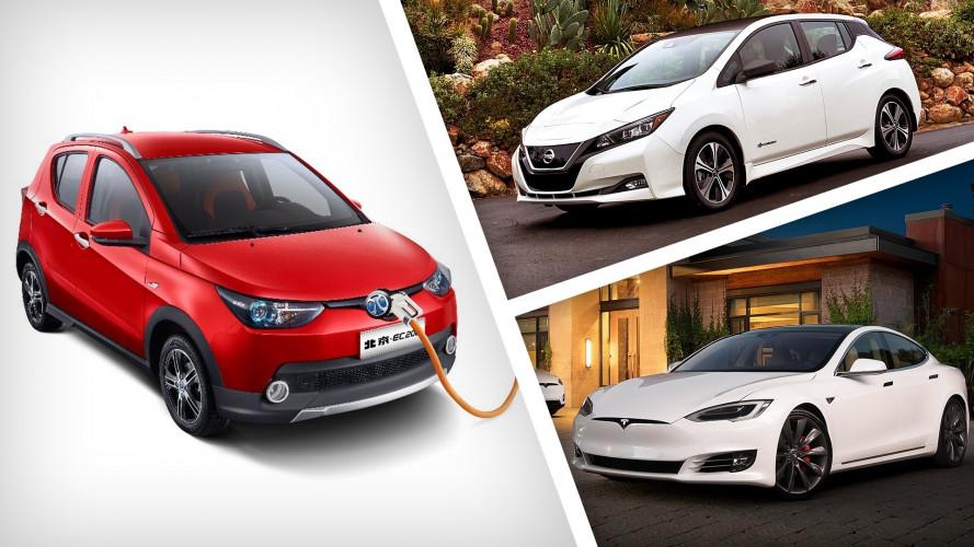 Auto elettrica, nel 2017 la Cina e Tesla hanno battuto tutti