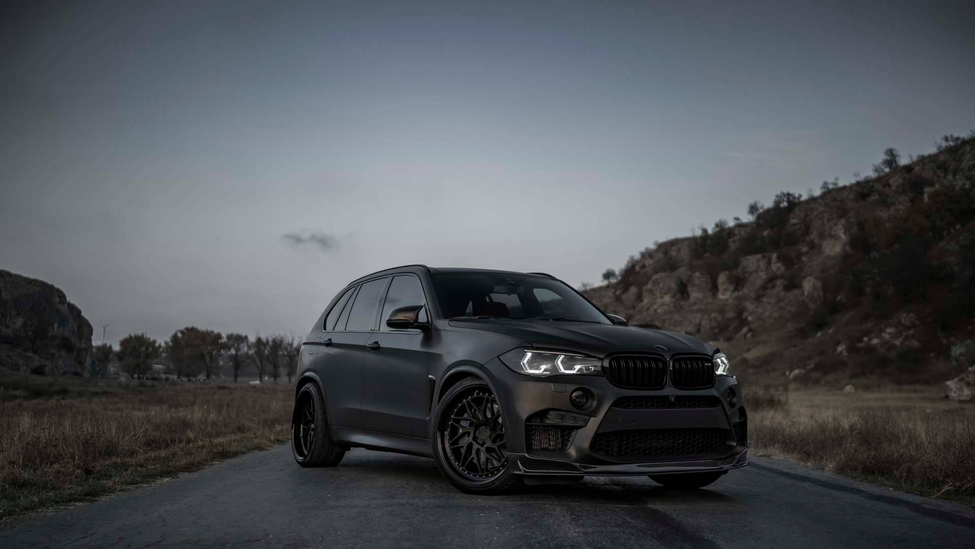 Murdered-Out BMW X5 M With 750 HP Is Mafia-Approved