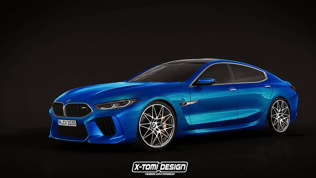 BMW M8 GC série