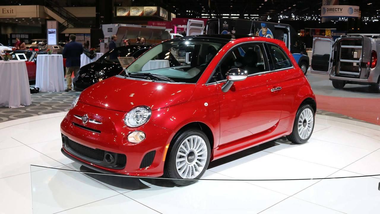 2018 Fiat 500 Chicago Auto Show