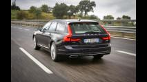 Volvo V90, la prova delle doti stradali 007