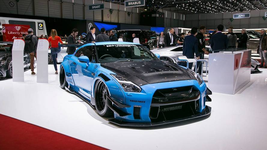 LB Works Nissan GT-R R35 type 2