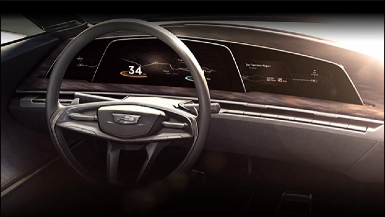 [Copertina] - Cadillac prepara la strumentazione OLED [VIDEO]