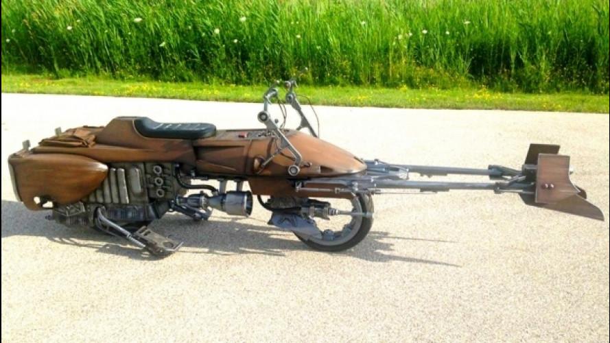 Star Wars, una Speeder Bike sulle strade americane