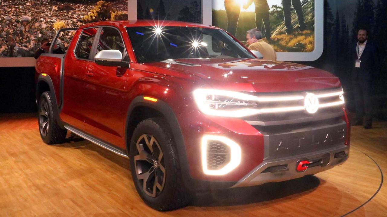 VW Atlas Tanoak Pickup Concept