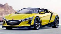 New Honda S2000 rendering