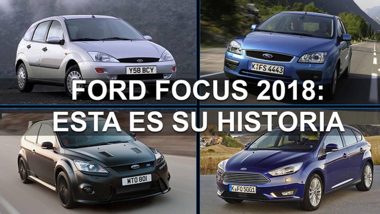 Ford Focus 2018: esta es su historia