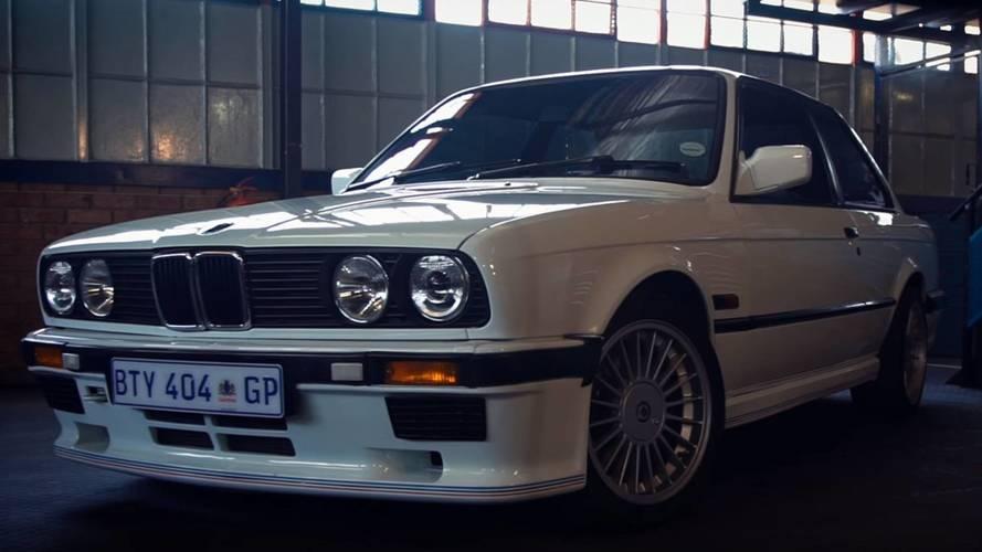 El extraño caso del BMW 333i E30 con el motor de un Serie 7