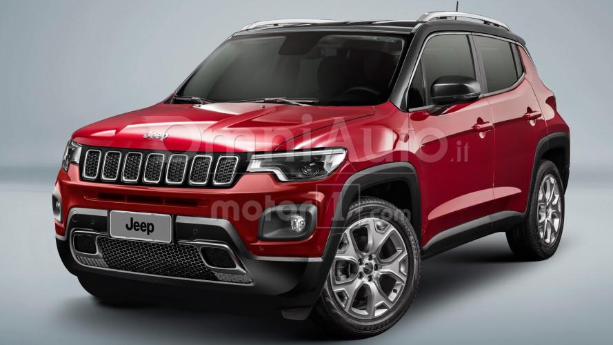 Jeeps Baby-SUV als Rendering (2018)