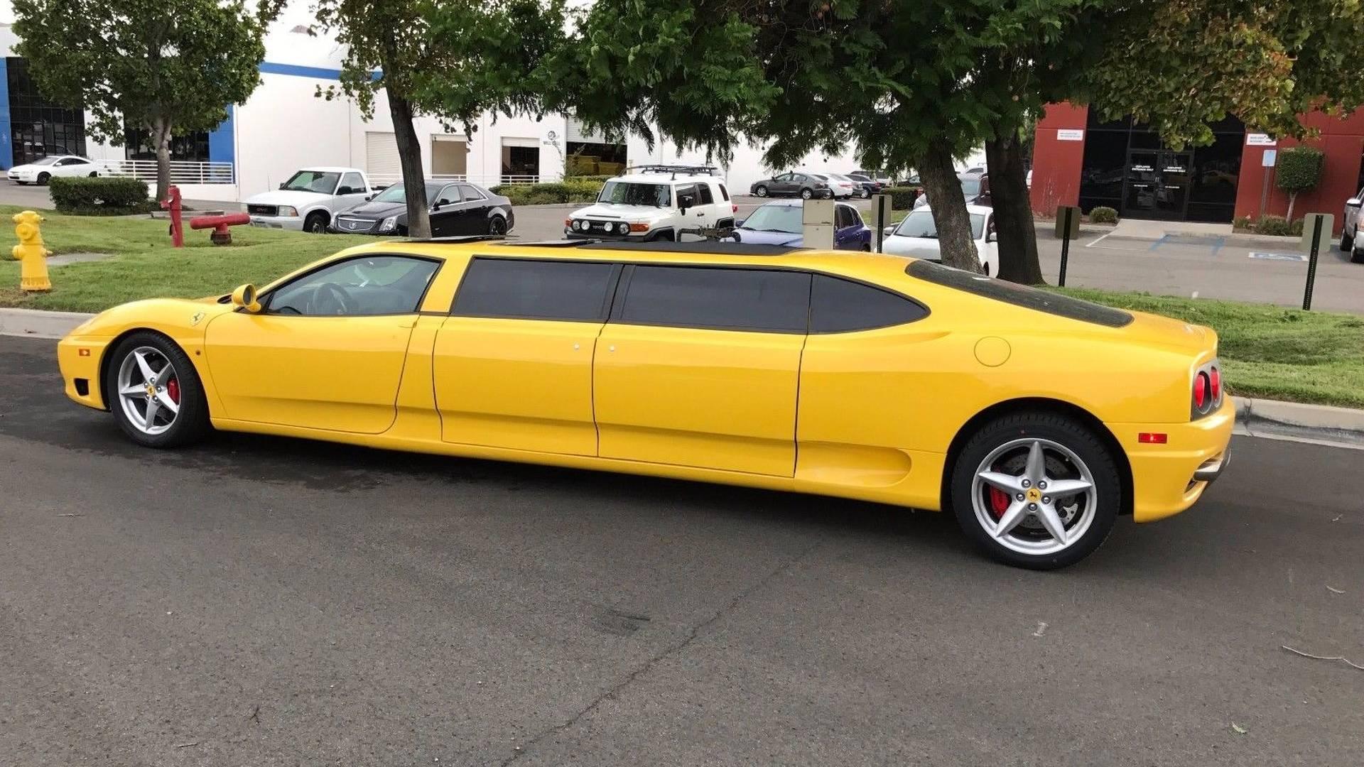 Ferrari 360 Limo Gets $104,400 Bid On eBay, But Fails To Sell