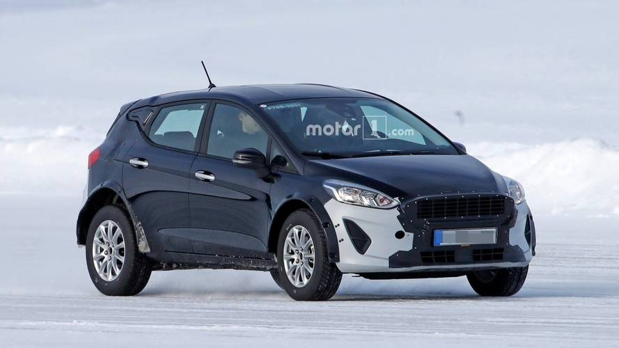 Ford Fiesta Test Mule Could Be The 'Baby Bronco' In Disguise
