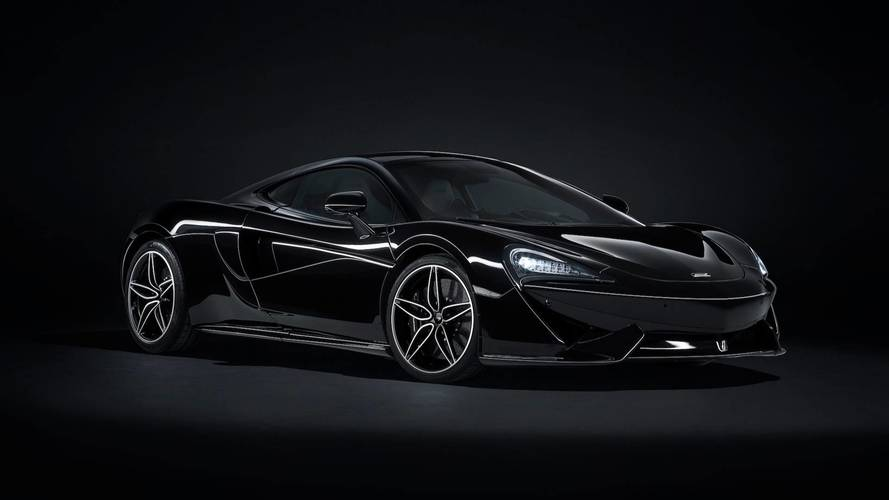McLaren 570GT Black Collection, la coupé total black