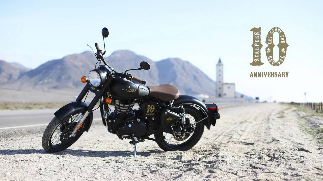 Royal Enfield Classic Scalpers