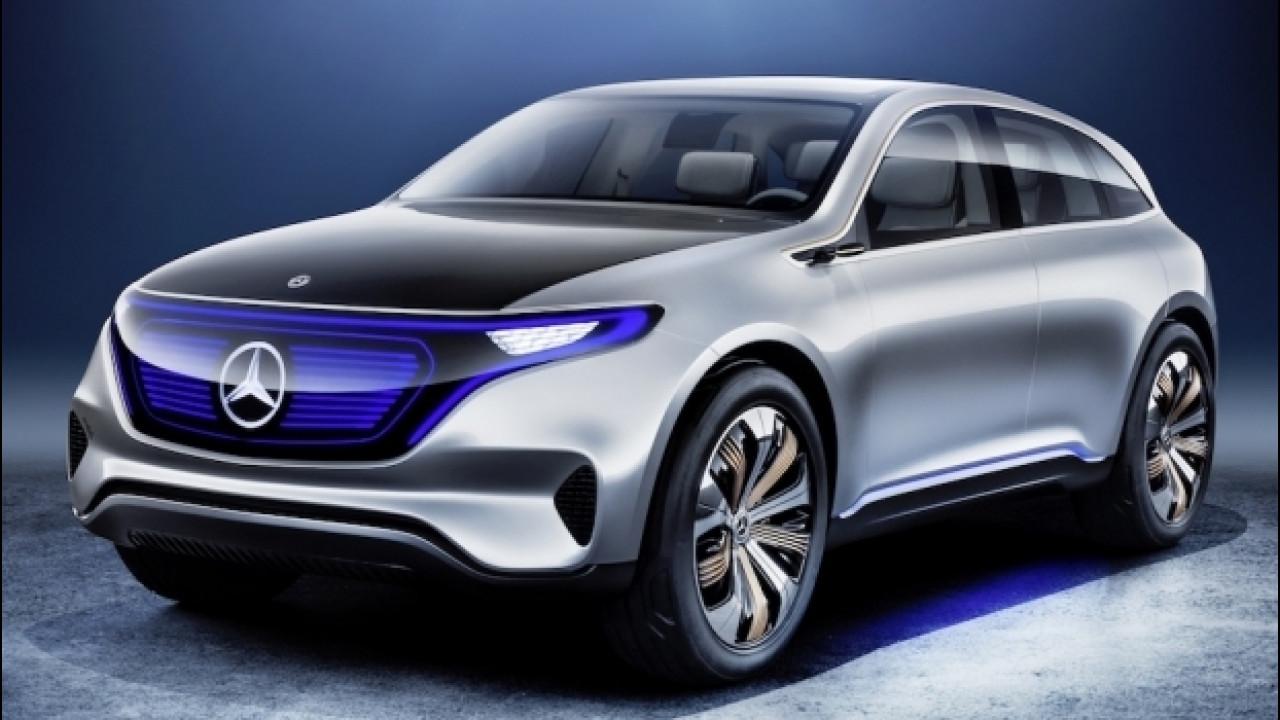 """[Copertina] - Salone di Parigi, Mercedes presenta EQ, marchio """"elettrico"""""""