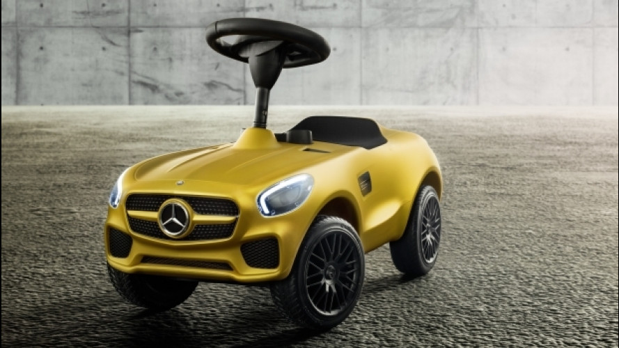 [Copertina] - Mercedes AMG GT Bobby-Car, una piccola per sognare in grande