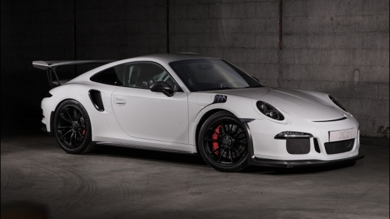 [Copertina] - Porsche 911 GT3 RS by Techart, il dominio del carbonio