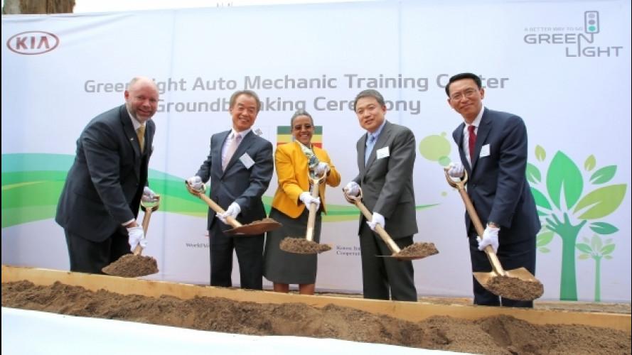 Kia forma nuovi meccanici in Etiopia e in Kenya