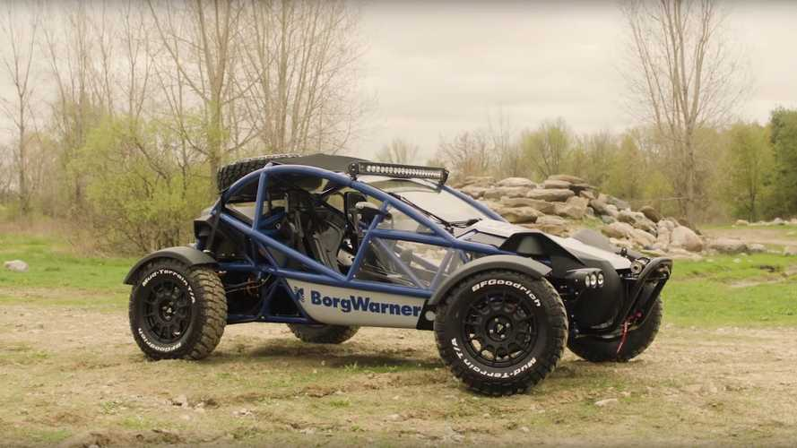 Ariel Nomad gets EV conversion by BorgWarner