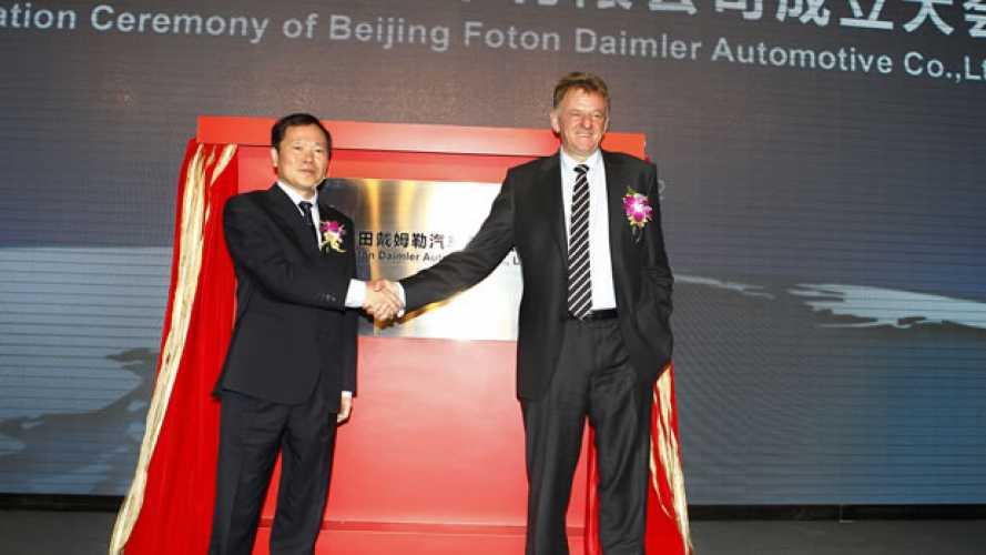 Nasce la Beijig Foton Daimler Automotive