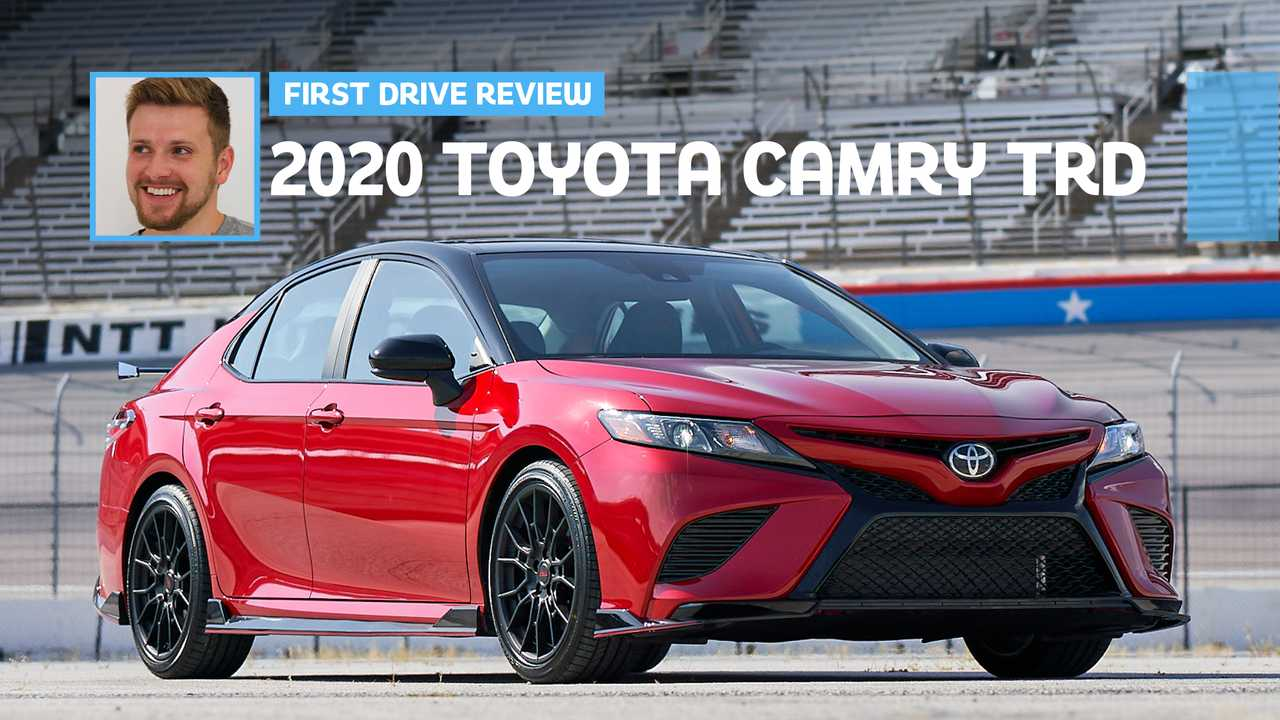 2020 Toyota Camry TRD: First Drive