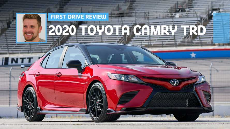 2020 Toyota Camry TRD First Drive: Undercover Fun