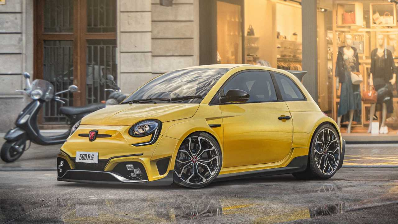 Fiat 500 RS rendering