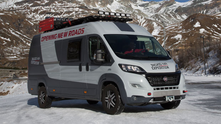 Fiat Ducato 4x4 Expedition al CMT