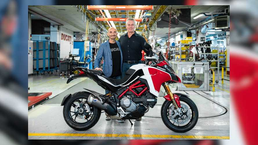 Ducati Celebrates 100K Multistradas With Official V4 Announcement