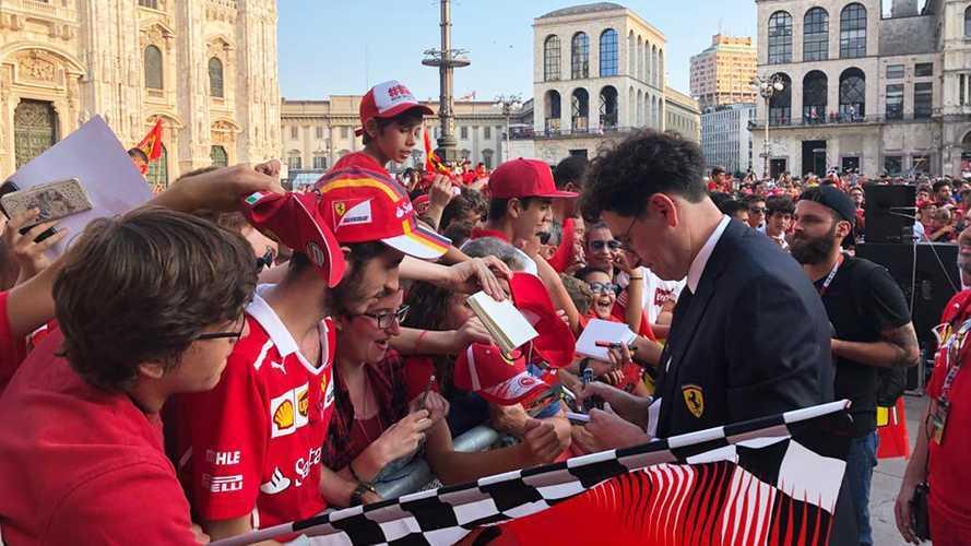 Amikor a rajongók sírva fakadnak Vettel, Leclerc és a többiek láttán: videó
