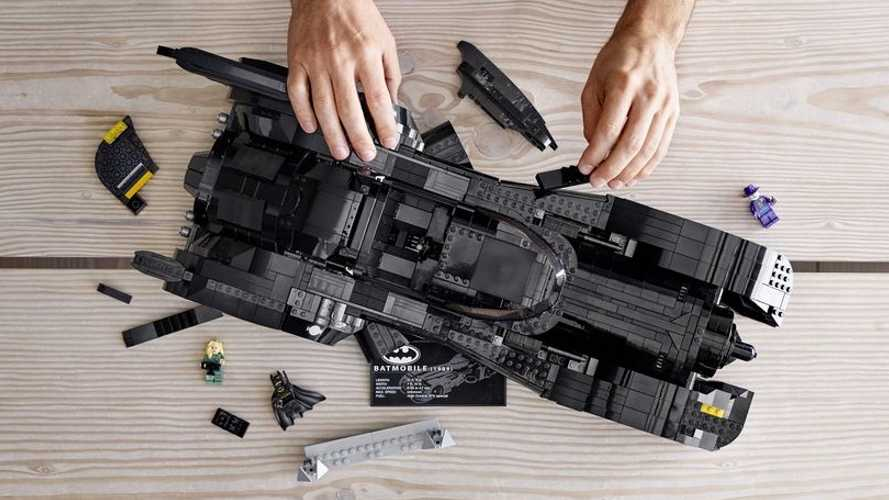 Build The Batmobile From '89 Tim Burton Movie With Lego Set