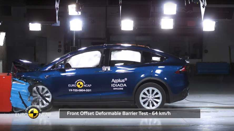Tesla Model X - Euro NCAP safety tests (2019)