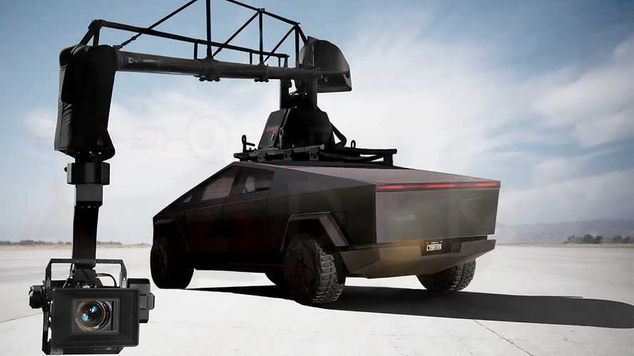 Tesla Cybertruck Envisioned As The Ultimate Camera Car (Pickup Truck)