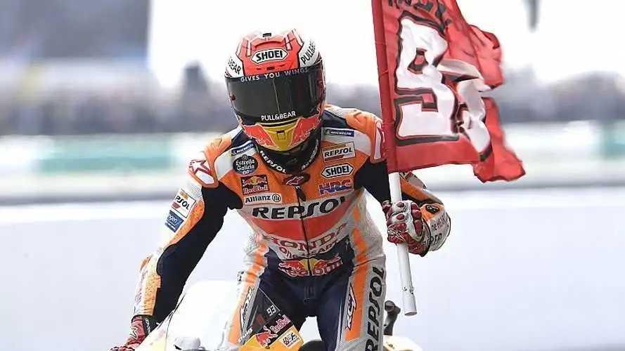 Márquez bate el récord de puntos en una temporada de MotoGP