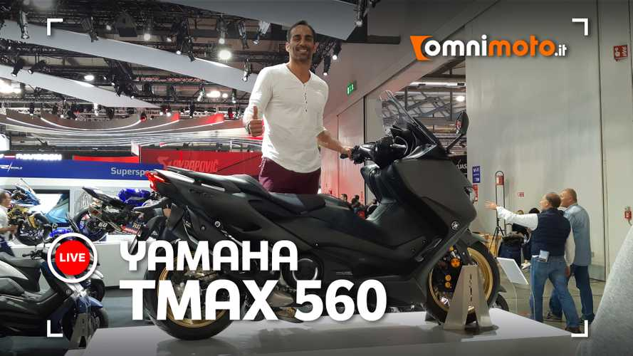 Yamaha TMAX 560, il maxi-scooter ancora più sport