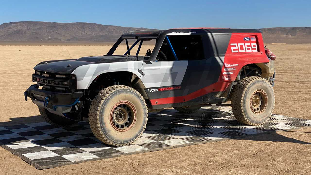 Ford Bronco Teased With Debut Of Bronco R Baja Racer