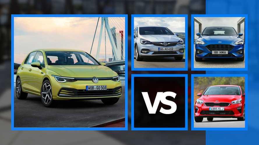 2020 Volkswagen Golf ve en büyük 5 rakibi