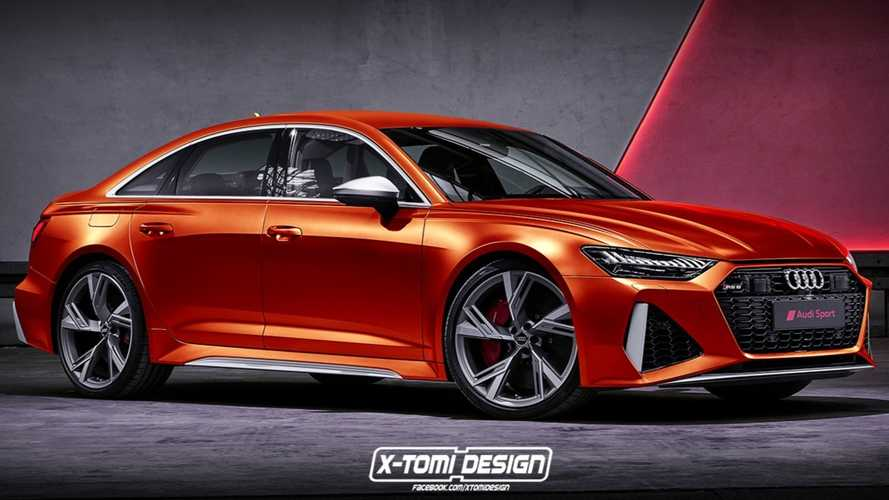 Audi RS6 Sedan Rendering Imagines The BMW M5 Rival