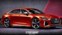 Audi RS 6 (2020) Limousine:  BMW-M5-Gegner gerendert