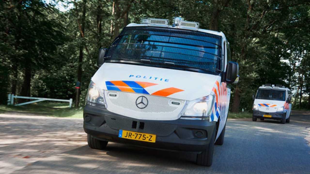 La Polizia olandese ordina gli Sprinter