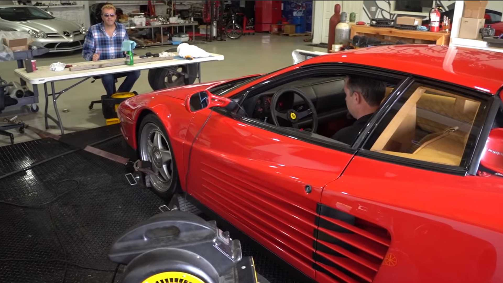 How Much Power Does The 1987 Ferrari Testarossa Still Have?
