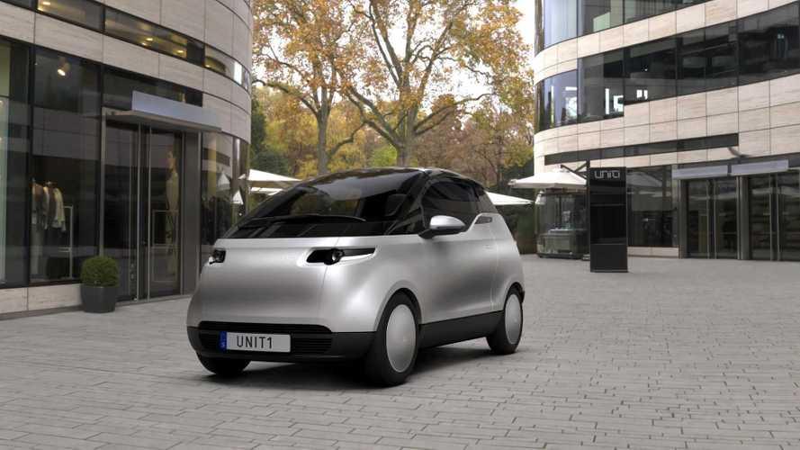 İsveçli Uniti firmasının ufak elektrikli şehir otomobilini görün