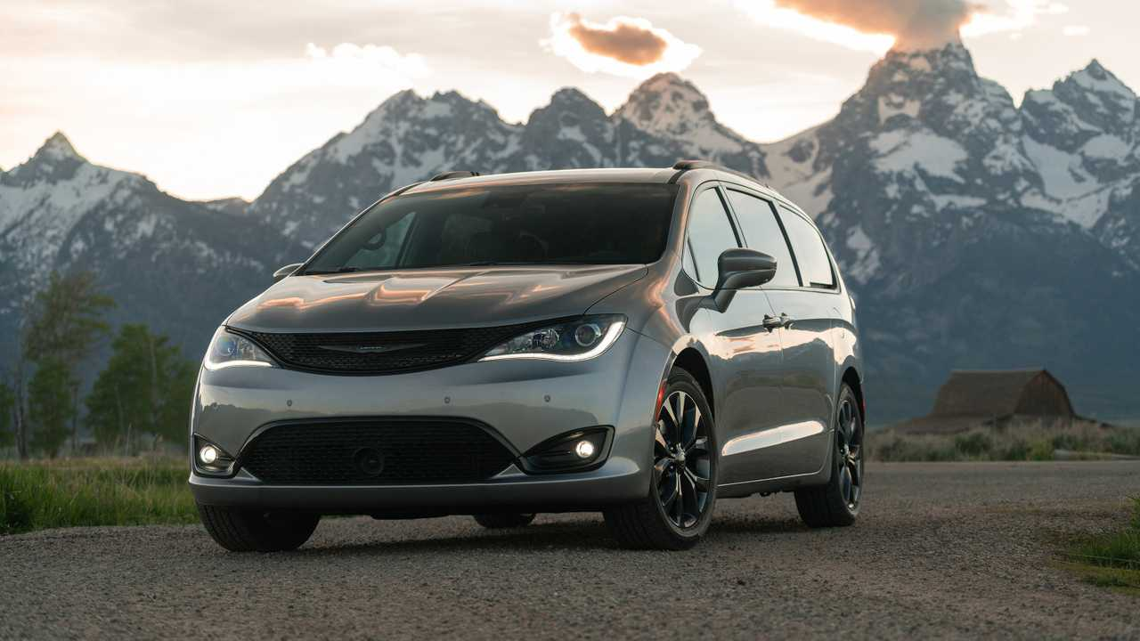 2020 Chrysler Pacifica Red S Edition